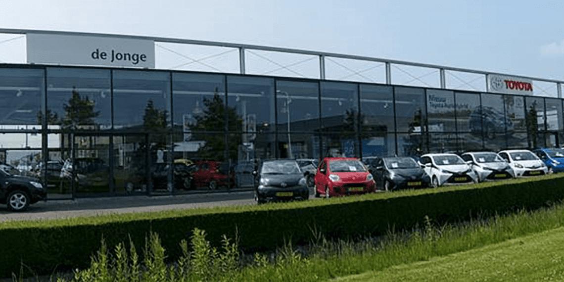 Toyota de Jonge: Efficiënter werken door het netwerk te vervangen